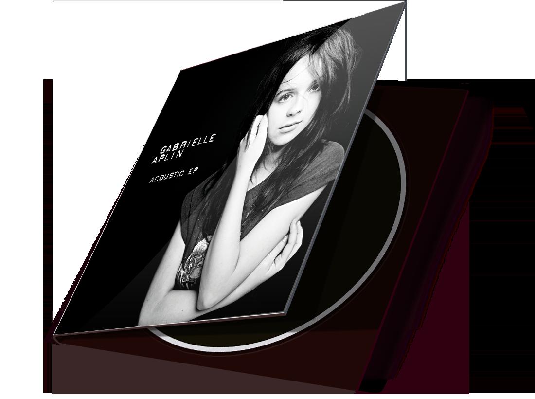 Gabrielle Aplin 'Acoustic EP' Cover Design image