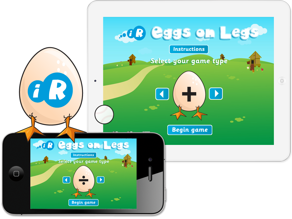 'Eggs On Legs' iPhone and iPad Apps image