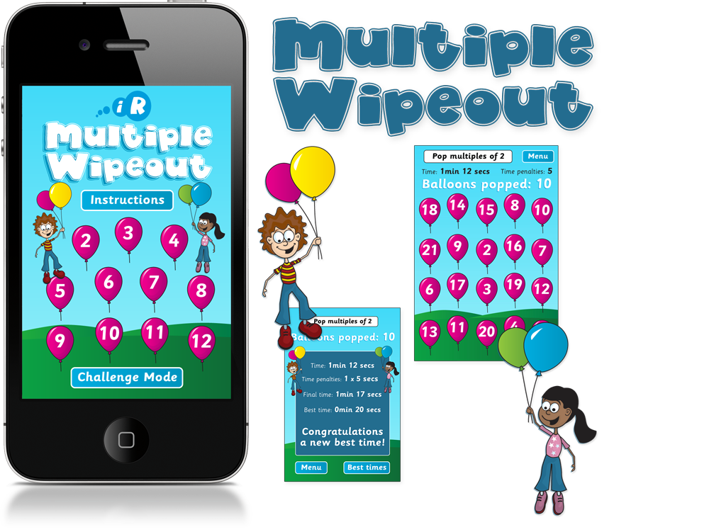 Multiple Wipeout iPhone and iPad Apps image
