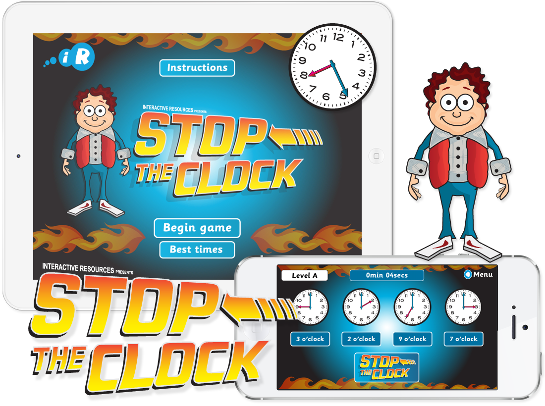 Primary Games 'Stop The Clock' Apps image
