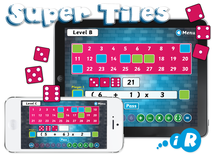 Primary Games 'Super Tiles' iPhone and iPad Apps image