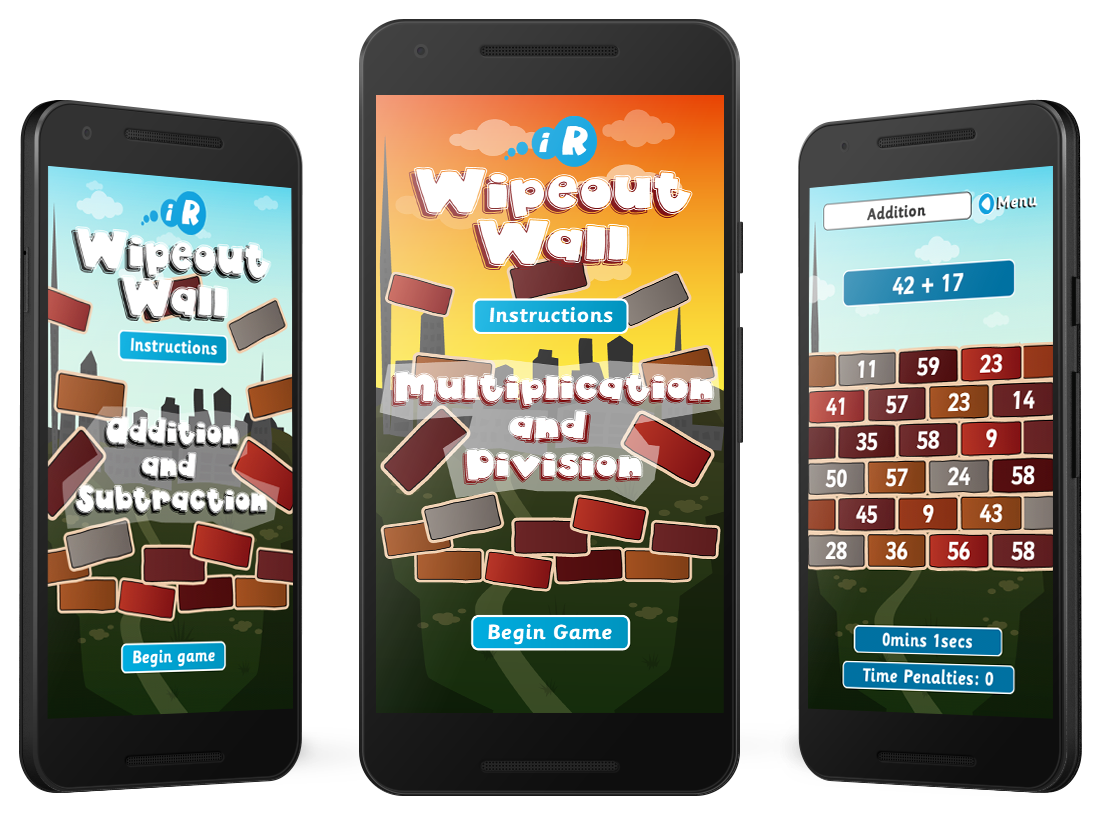 'Wipeout Wall' Android and Amazon Kindle Fire Apps image