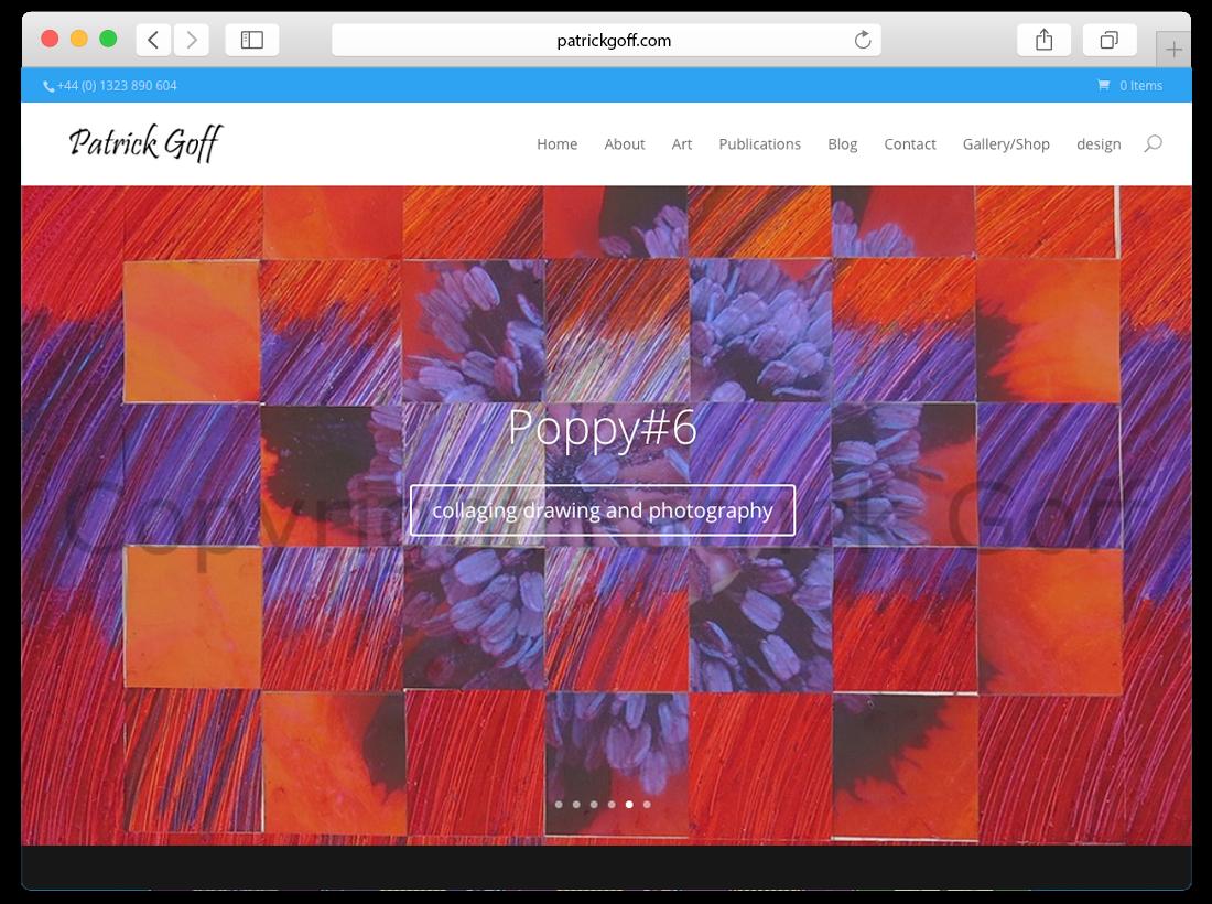 'Patrick Goff' Responsive Website image