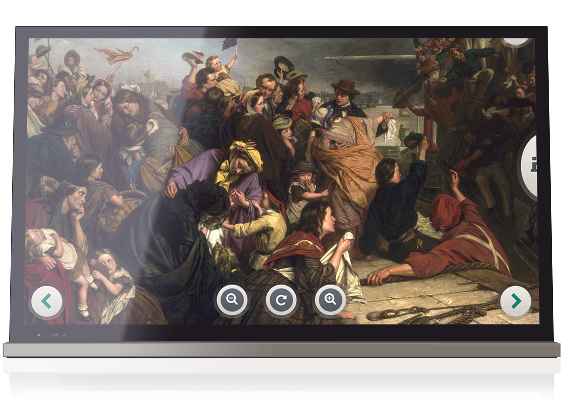National Maritime Museum – HD Image explorer Touchscreen image