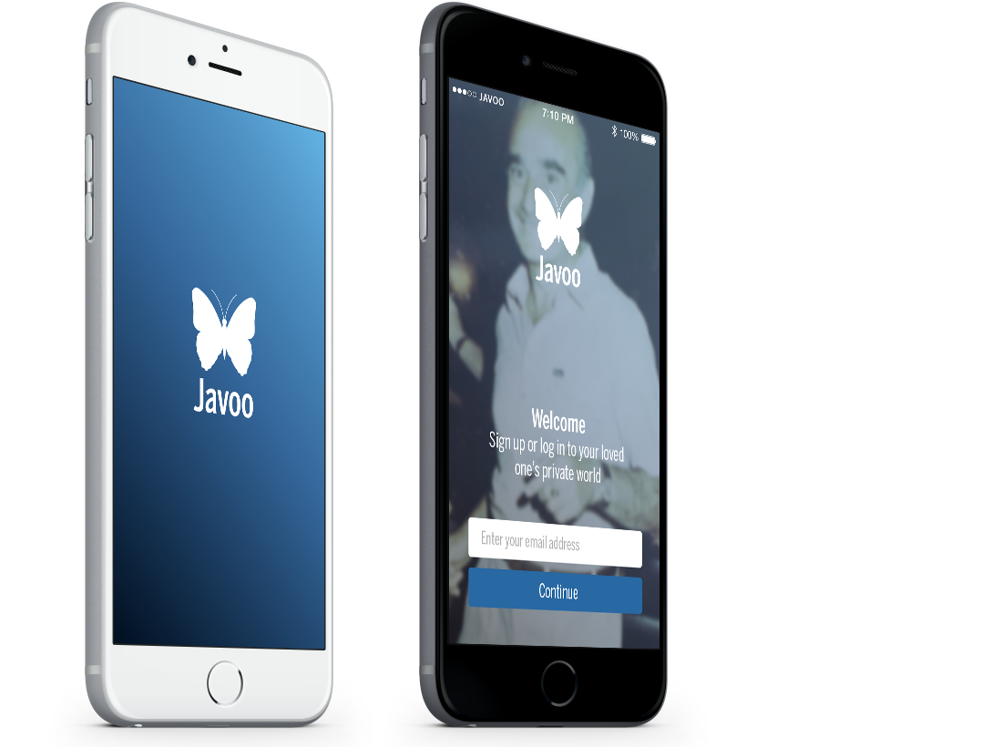 Javoo Dementia App – User eXperience and Design image