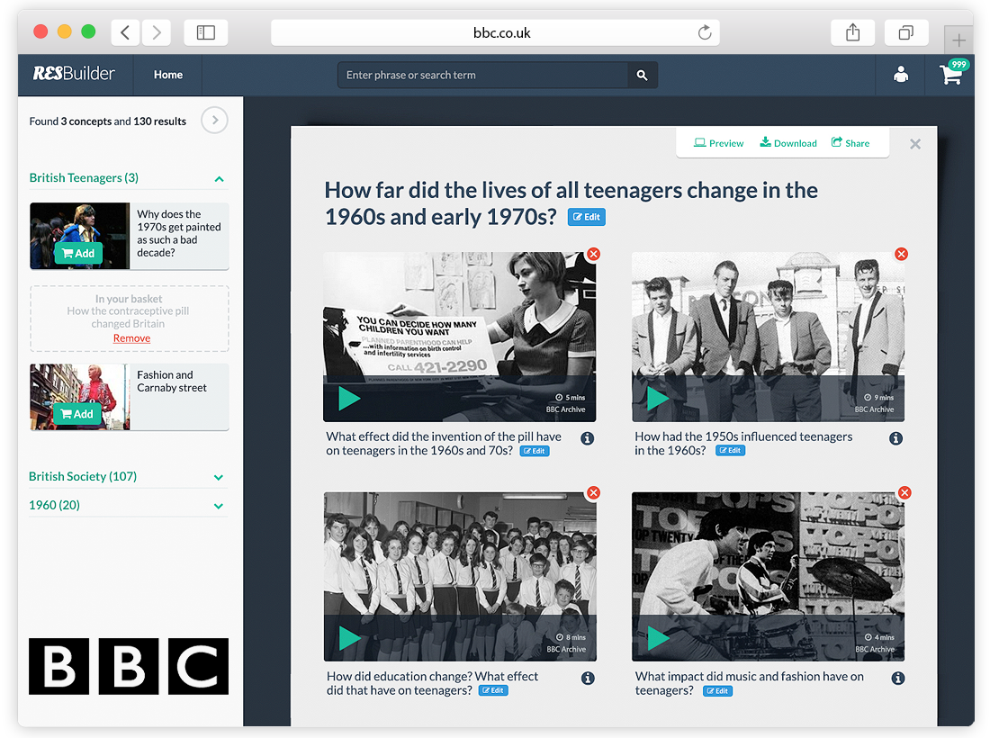 BBC Research Web Application Powered By Artificial Intelligence image