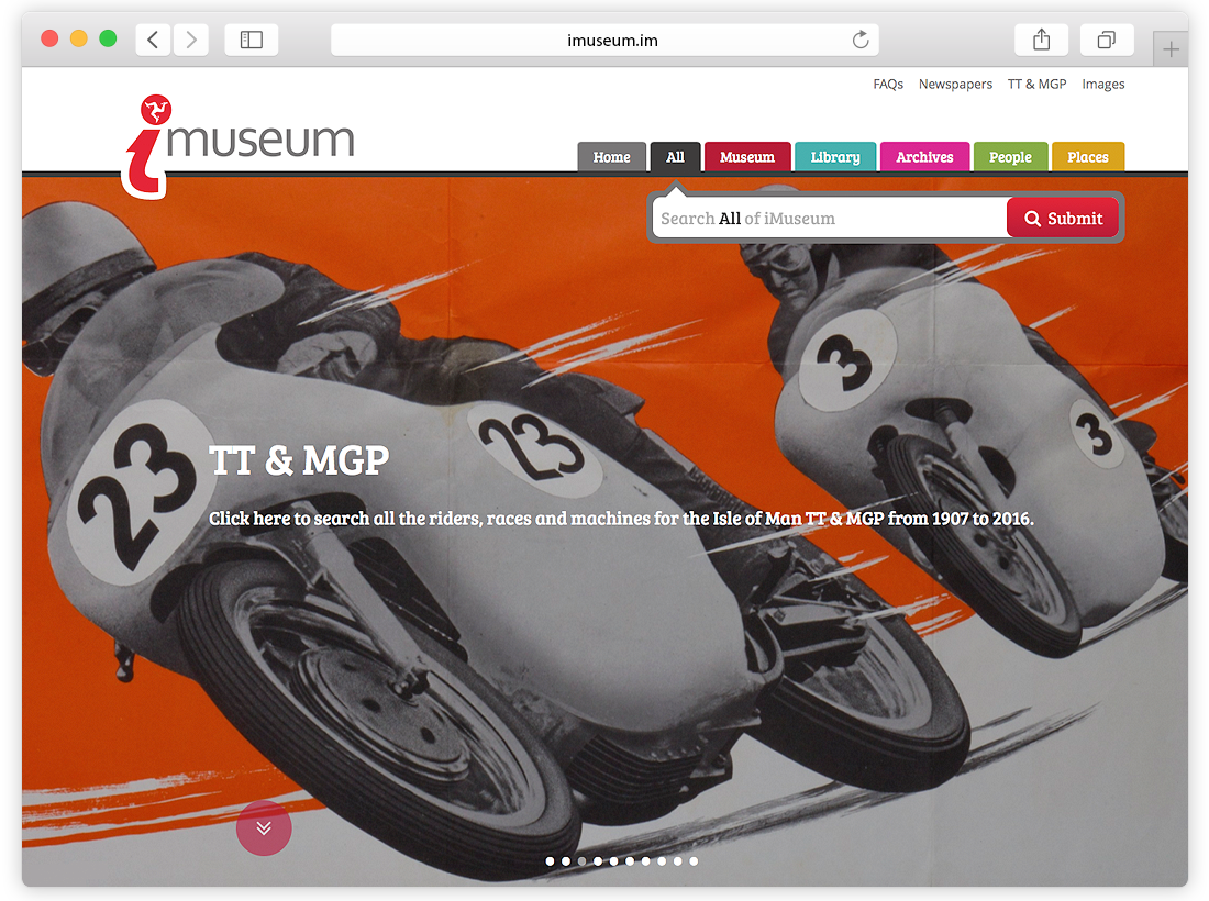 iMuseum Website Design and Programming image