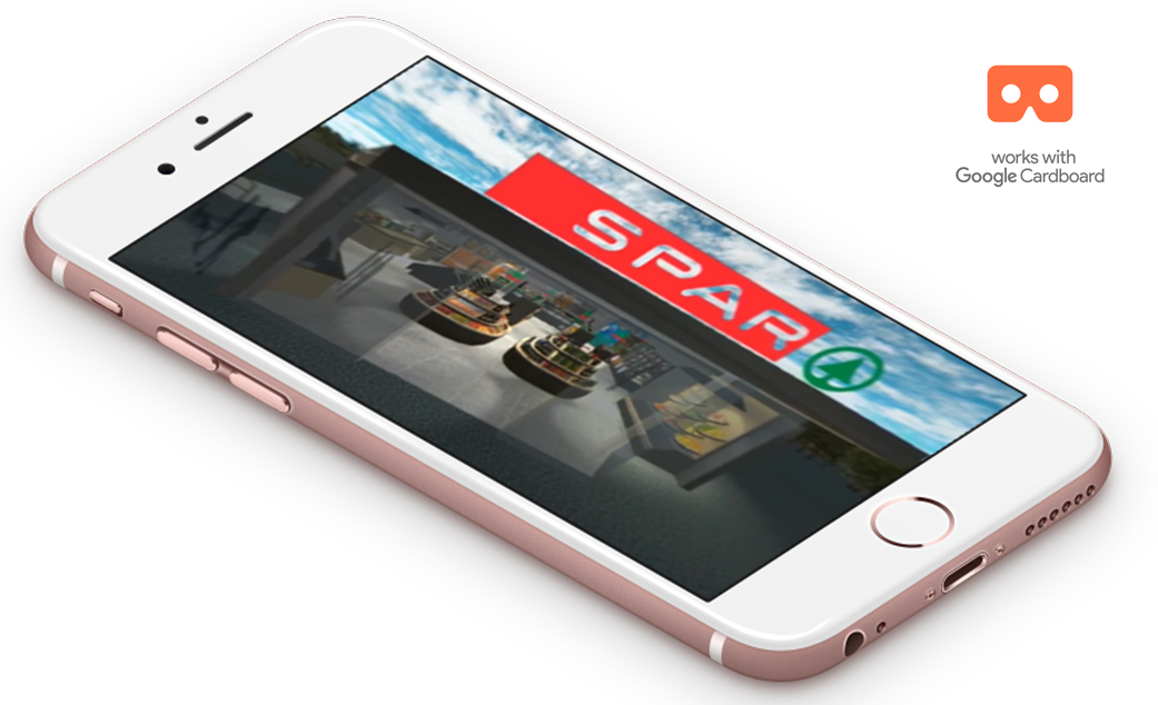 Spar VR – Store Of The Future Virtual Reality App image