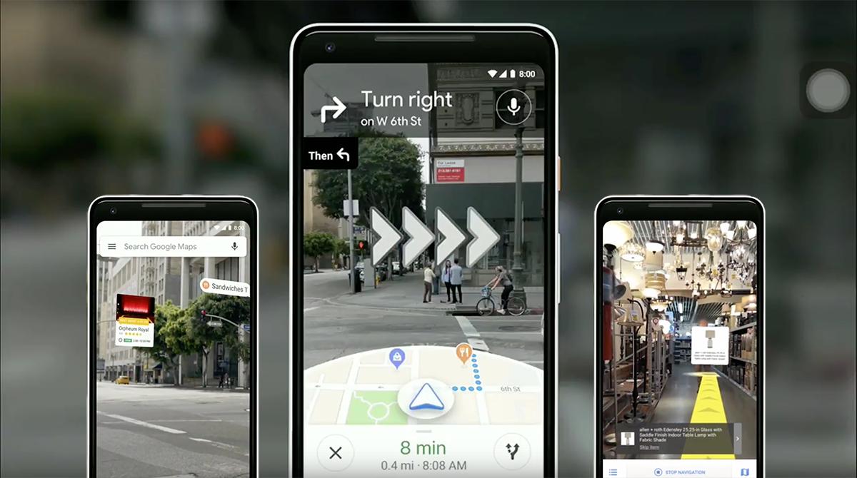 Google I/O Visual Positioning System image