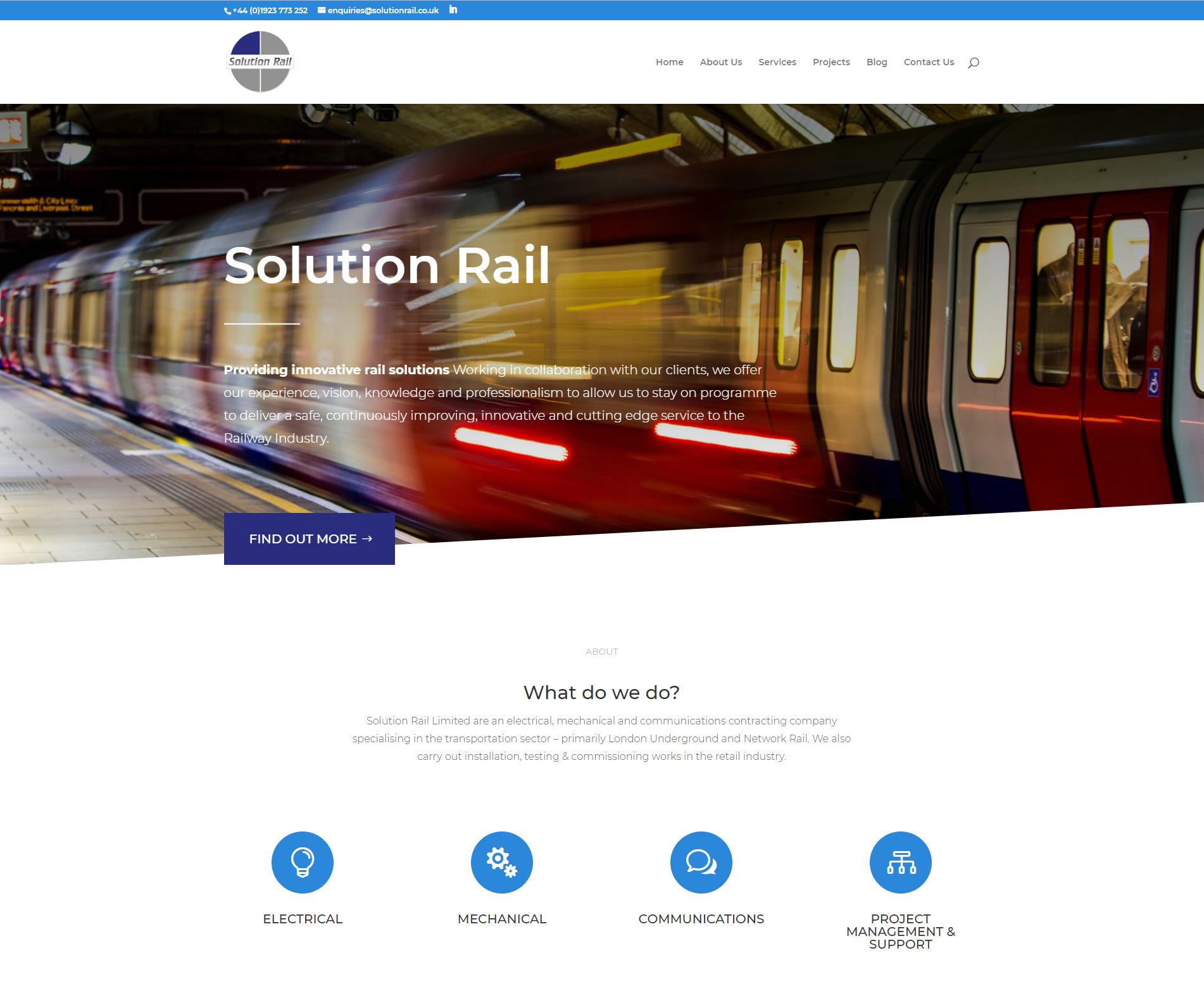 Solution Rail image