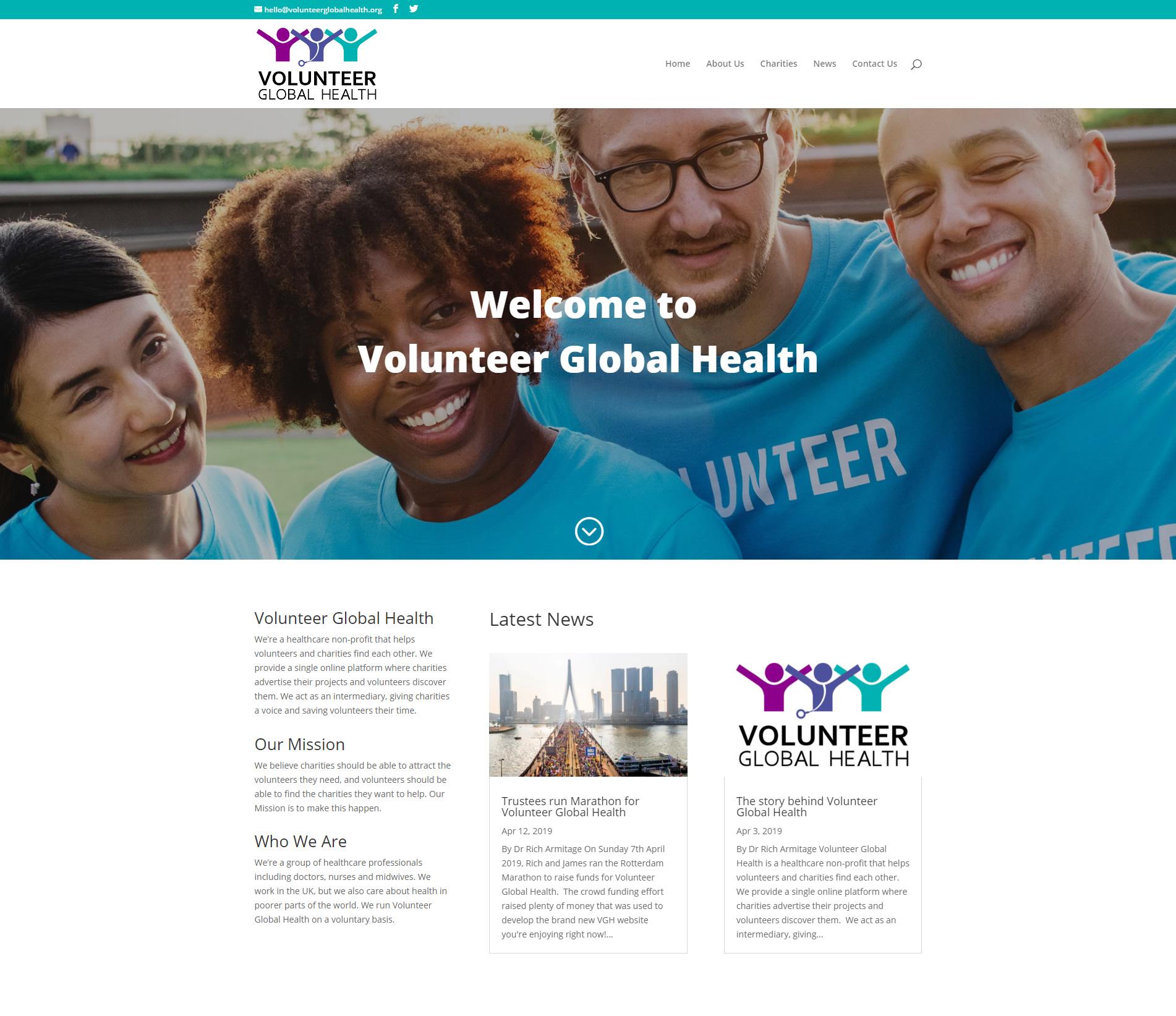 Volunteer Global Health image