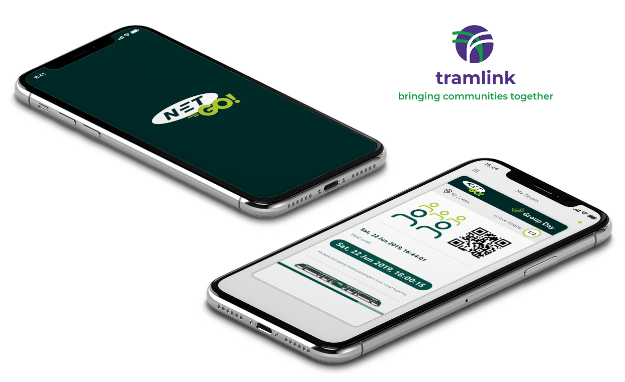 NETGO! Nottingham Tram Mobile Ticket App image