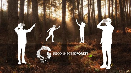 5G Connected Forest Gooii AR and VR Apps