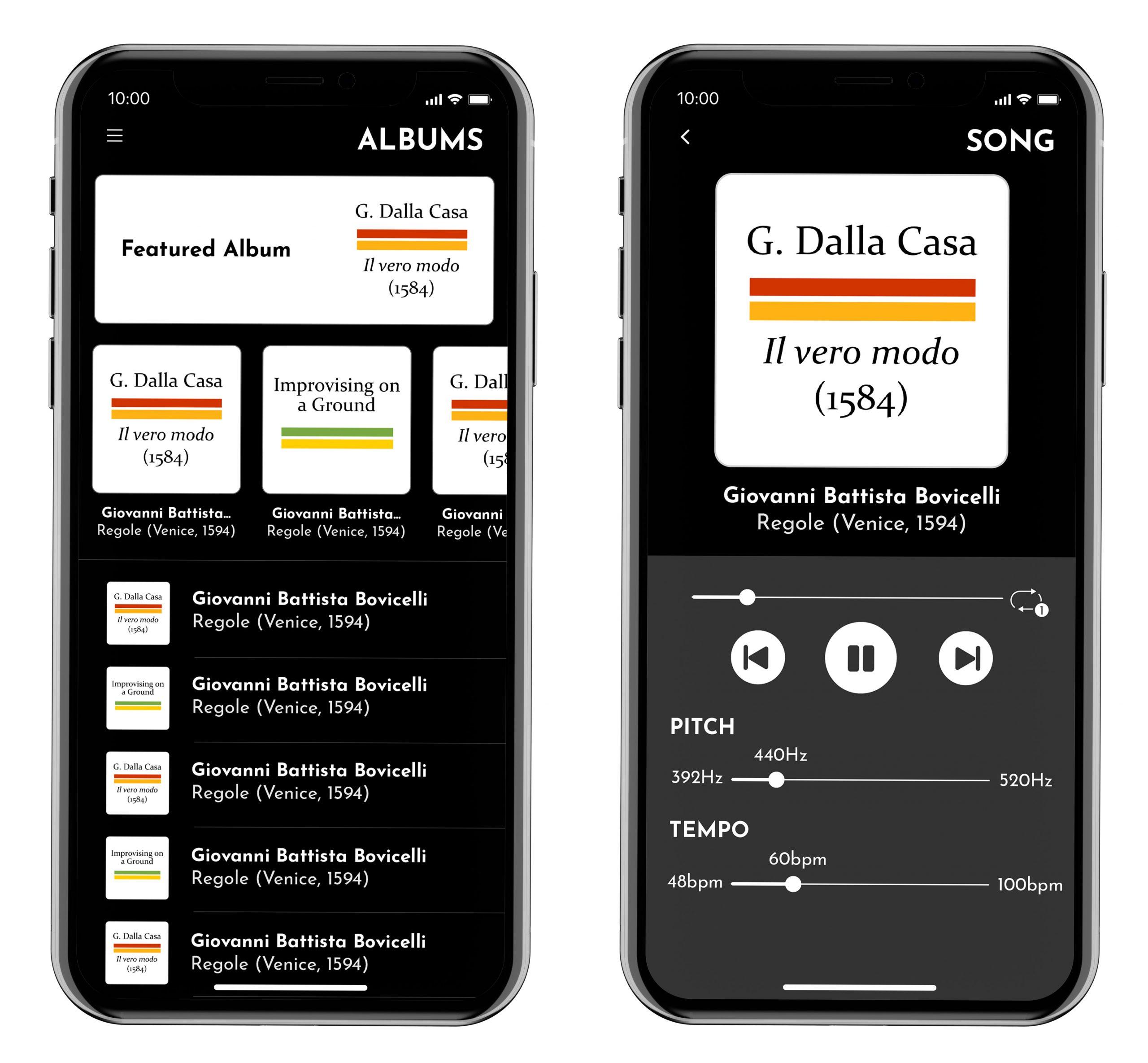 Passaggi iOS & Android Music App image